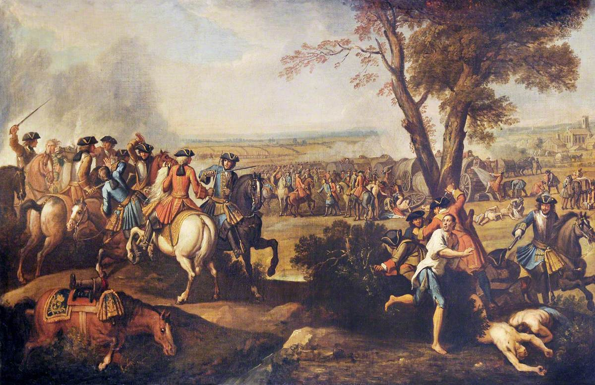 The Pursuit of the French after the Battle of Ramillies