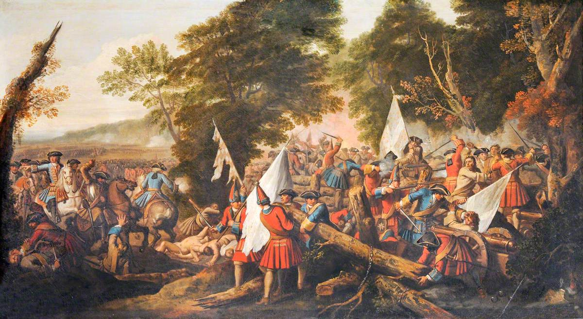The Battle of Malplaquet (Tanières), 1709: The English Dismantling French Defences in the Wood