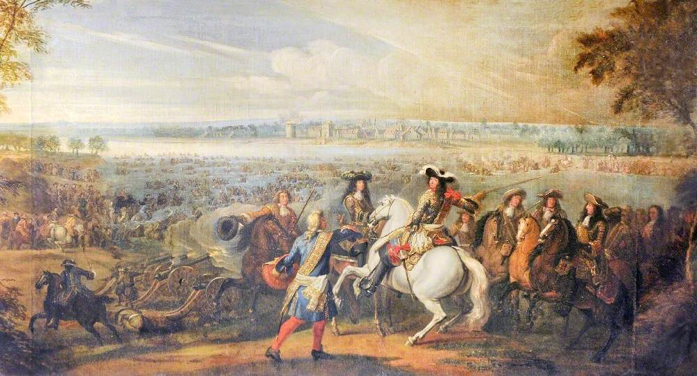 Louis XIV Directing the Crossing of the Rhine, 12 June 1672