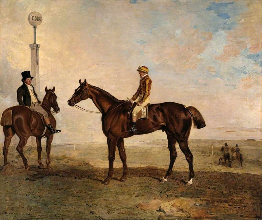 The Duke of Richmond's 'Rough Robin' with the Jockey Frank Buckle Up