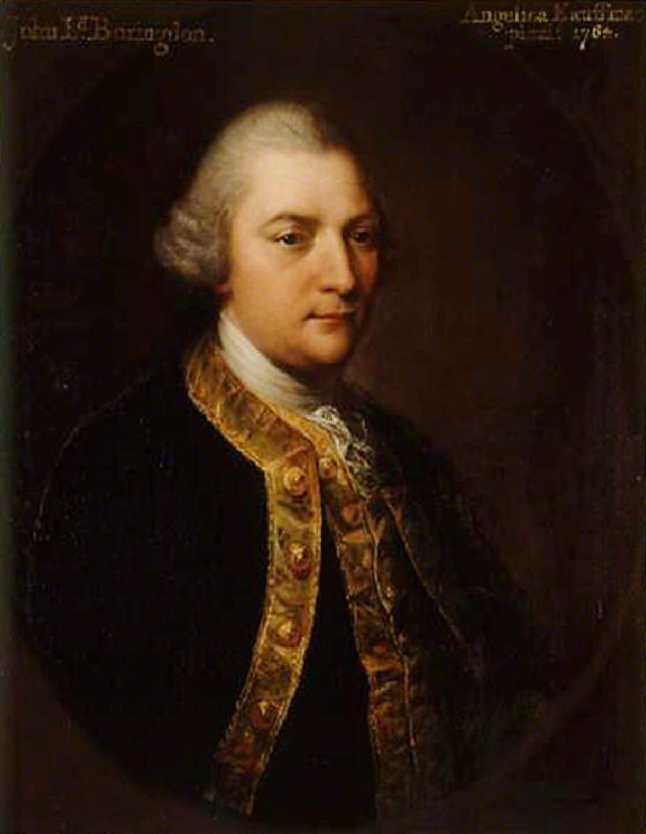 John Parker (1734/1735–1788), Later 1st Baron Boringdon