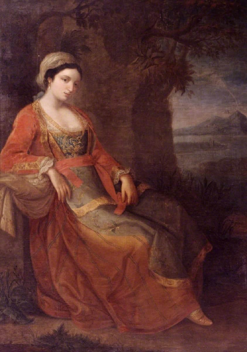 A Woman in Neapolitan Dress