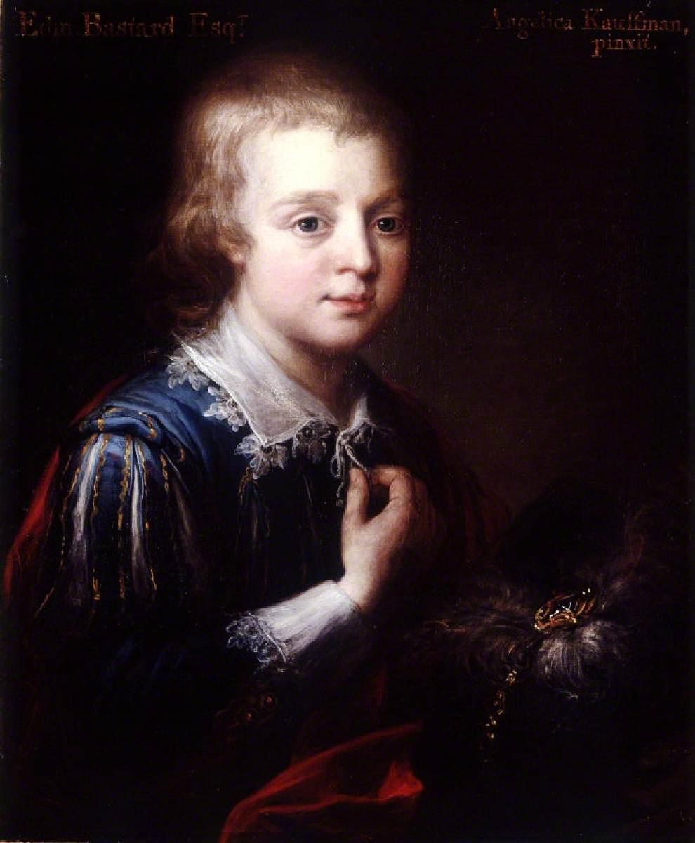 Edmund Bastard (1758–1816), as a Boy