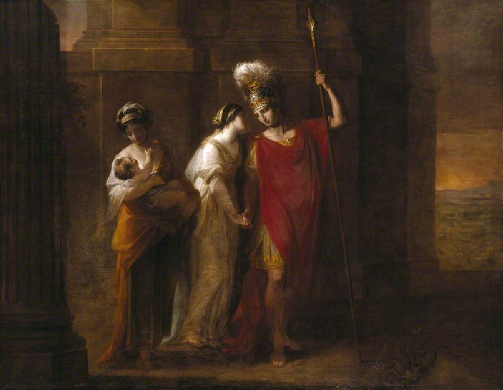 Hector Taking Leave of Andromache