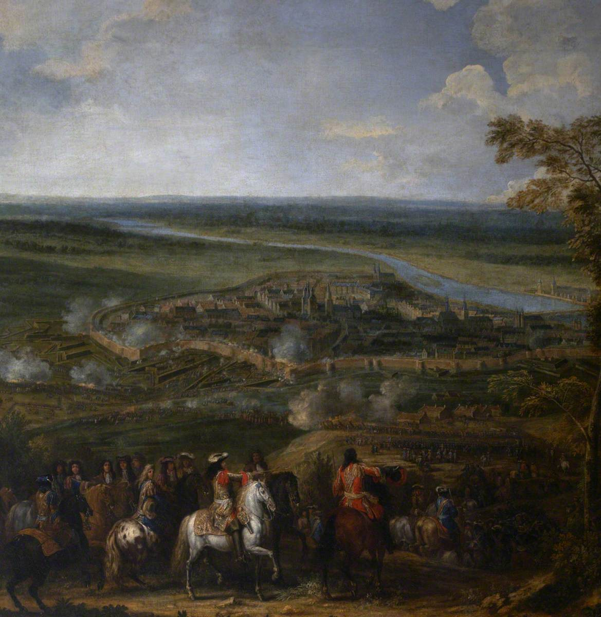 The Siege of Maastricht, 1673