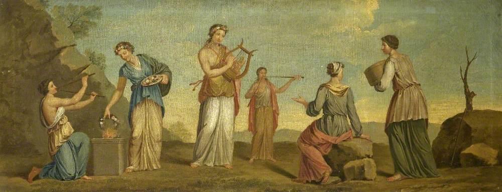 Sappho and Her Companions