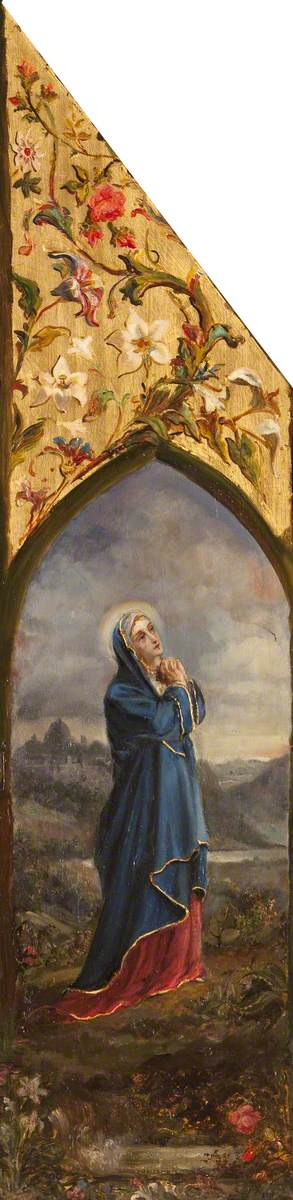 The Virgin Mary Adoring Her Son