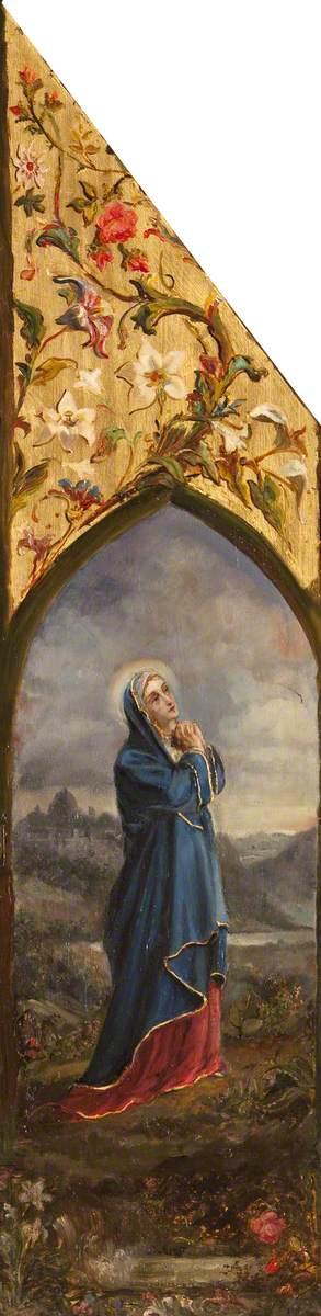 The Virgin Mary Adoring Her Son