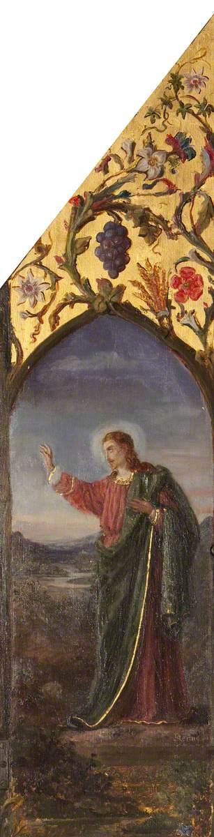 Saint John in Adoration