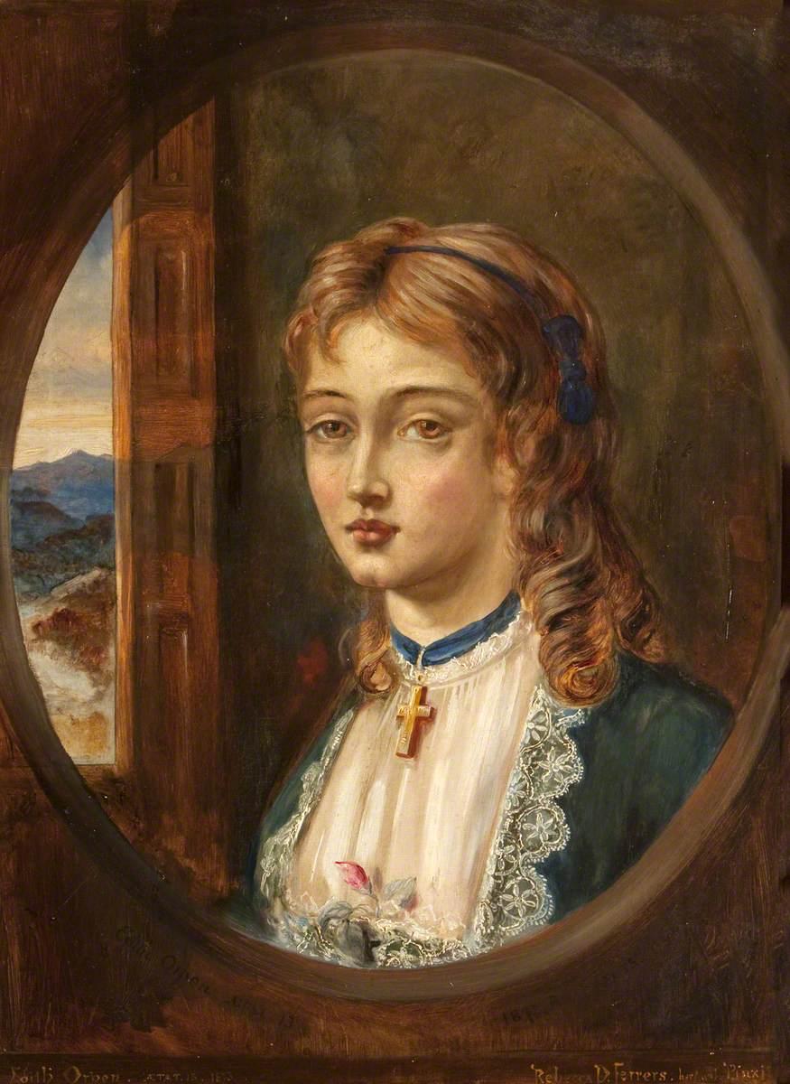 Edith Frances Rosamond Orpen (1859/1860–1939), Aged 13