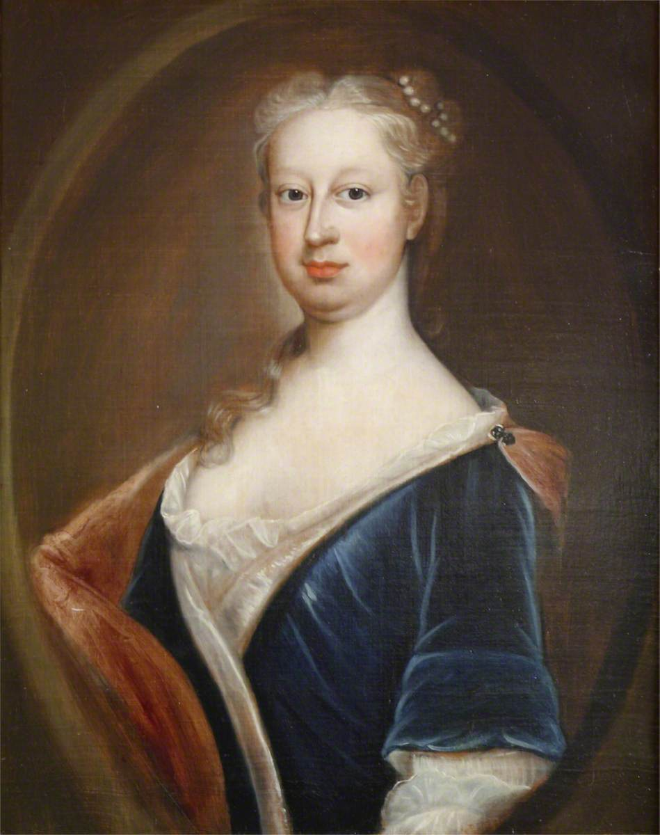 Mary Scrope (1702–1738), Mrs Thomas Peter Strickland