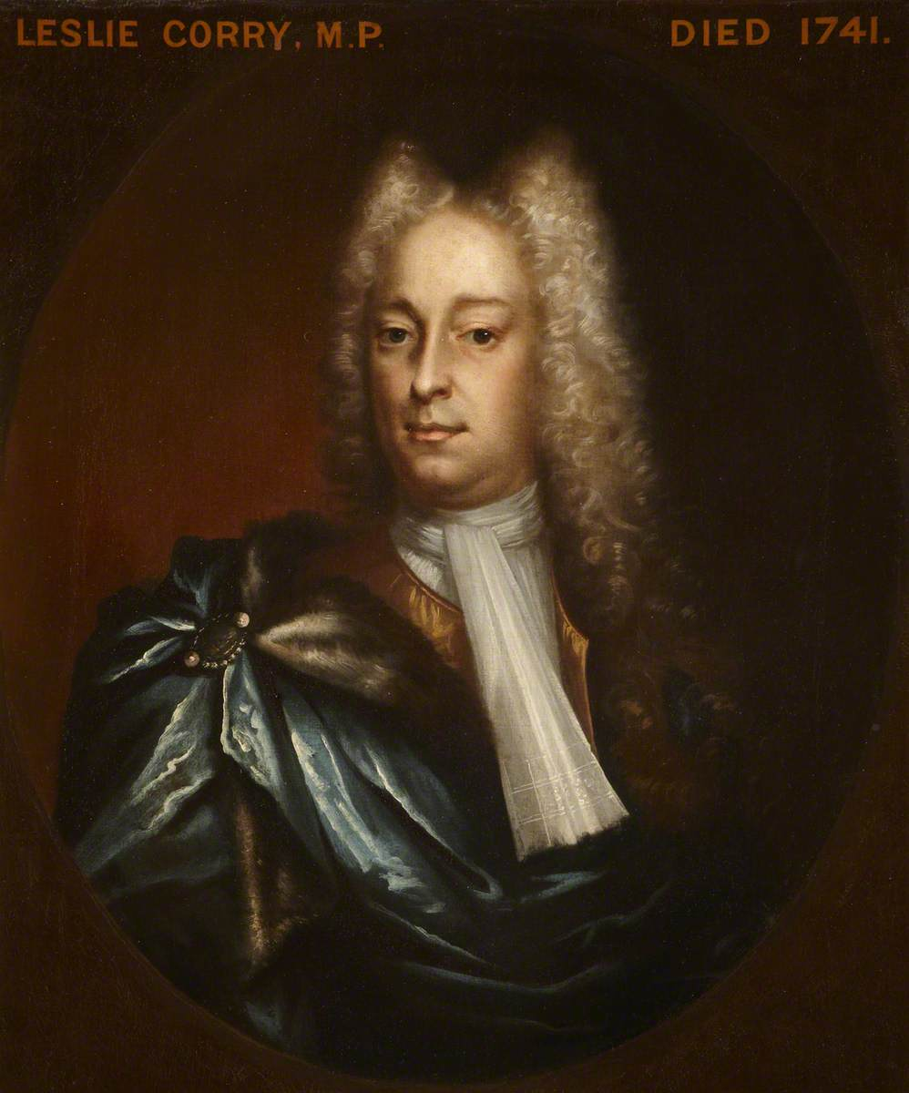 Called 'Colonel Leslie Corry (1712–1740/1741), MP'