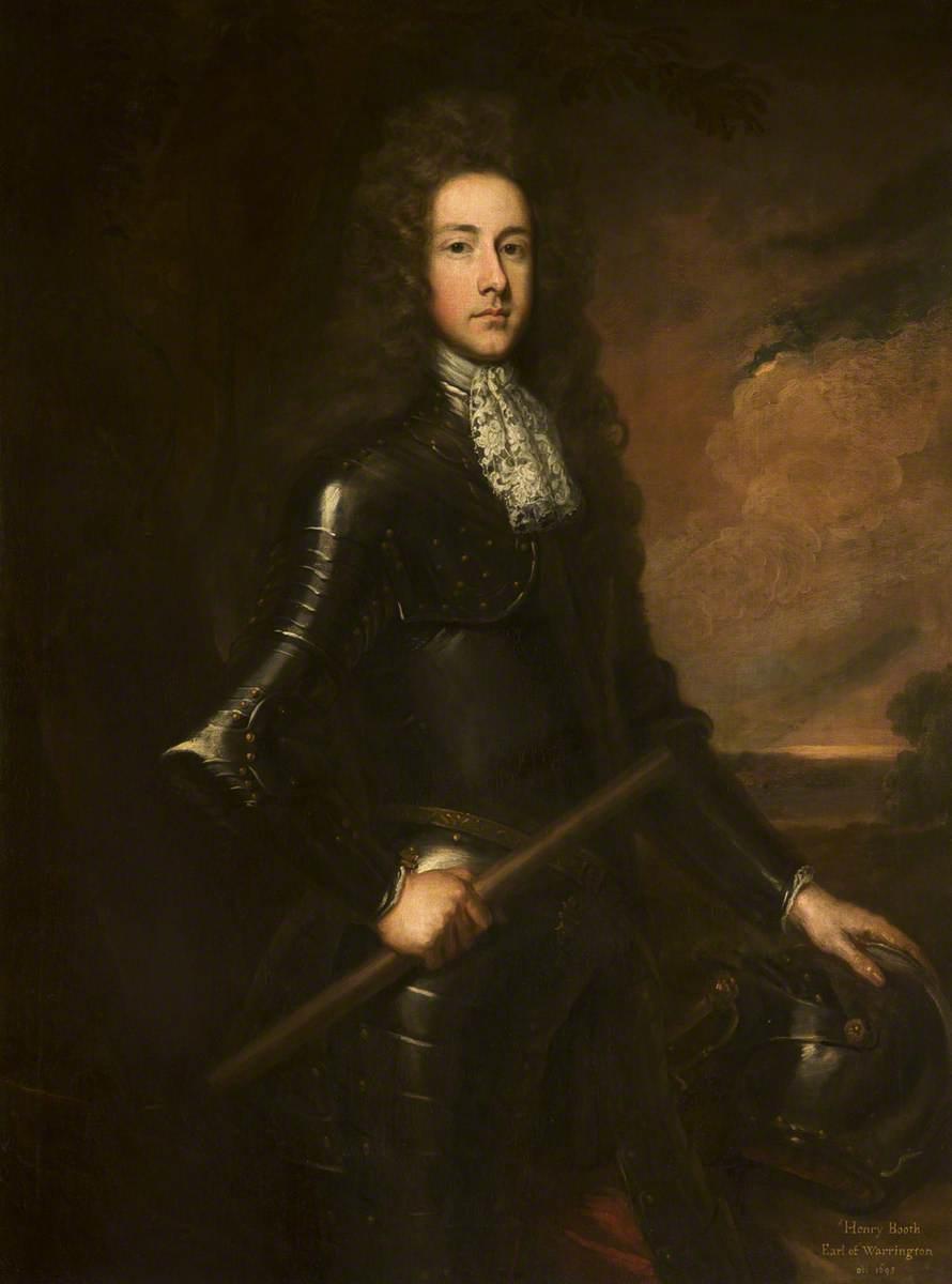 Sir Henry Booth (1651–1694), 1st Earl of Warrington