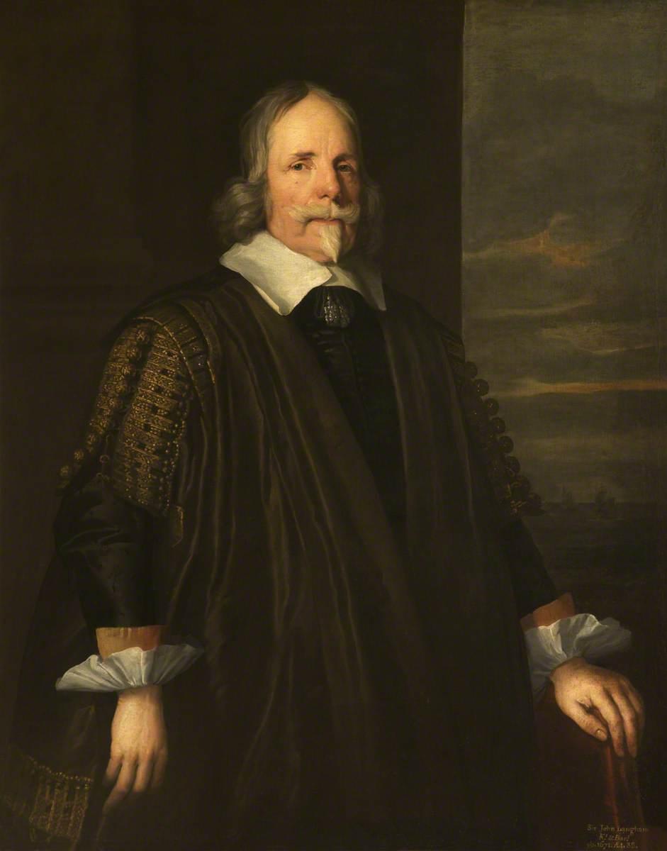 Sir John Langham (1583/1584–1671)