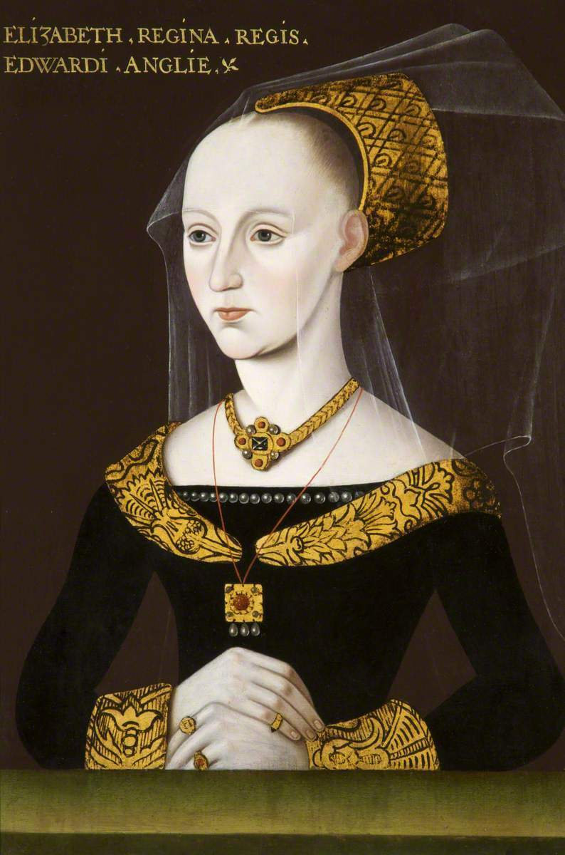Elizabeth Woodville (c.1437–1492), Queen Consort to King Edward IV, Earlier the Wife of Sir John Grey