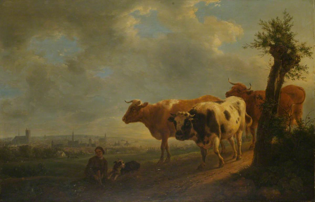 A View over Fields towards Brussels