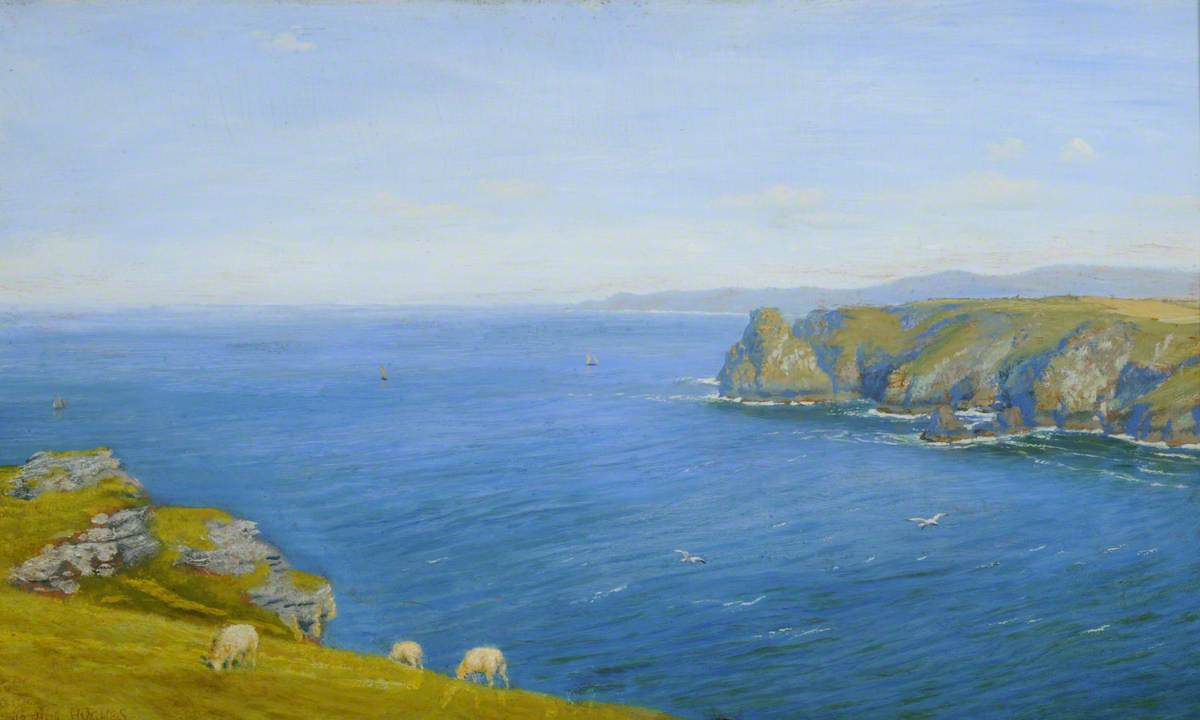A Bay on the North Cornish Coast