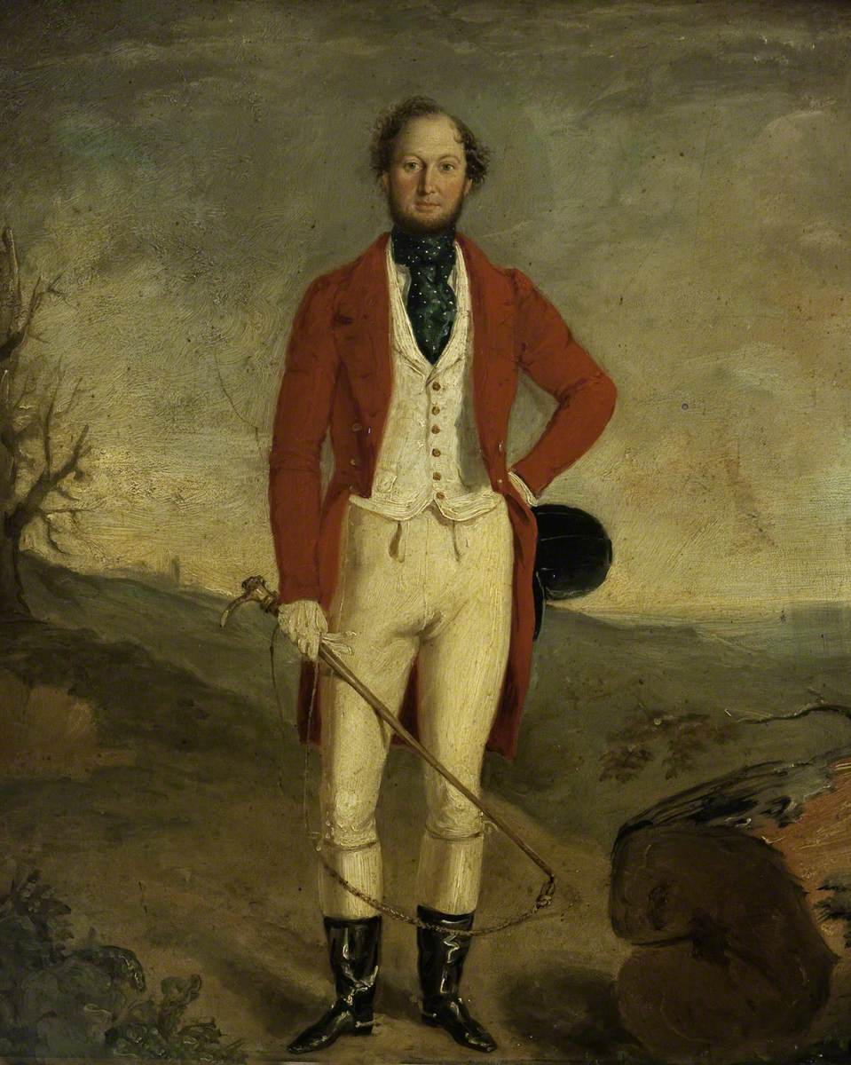 A Man in Hunt Uniform