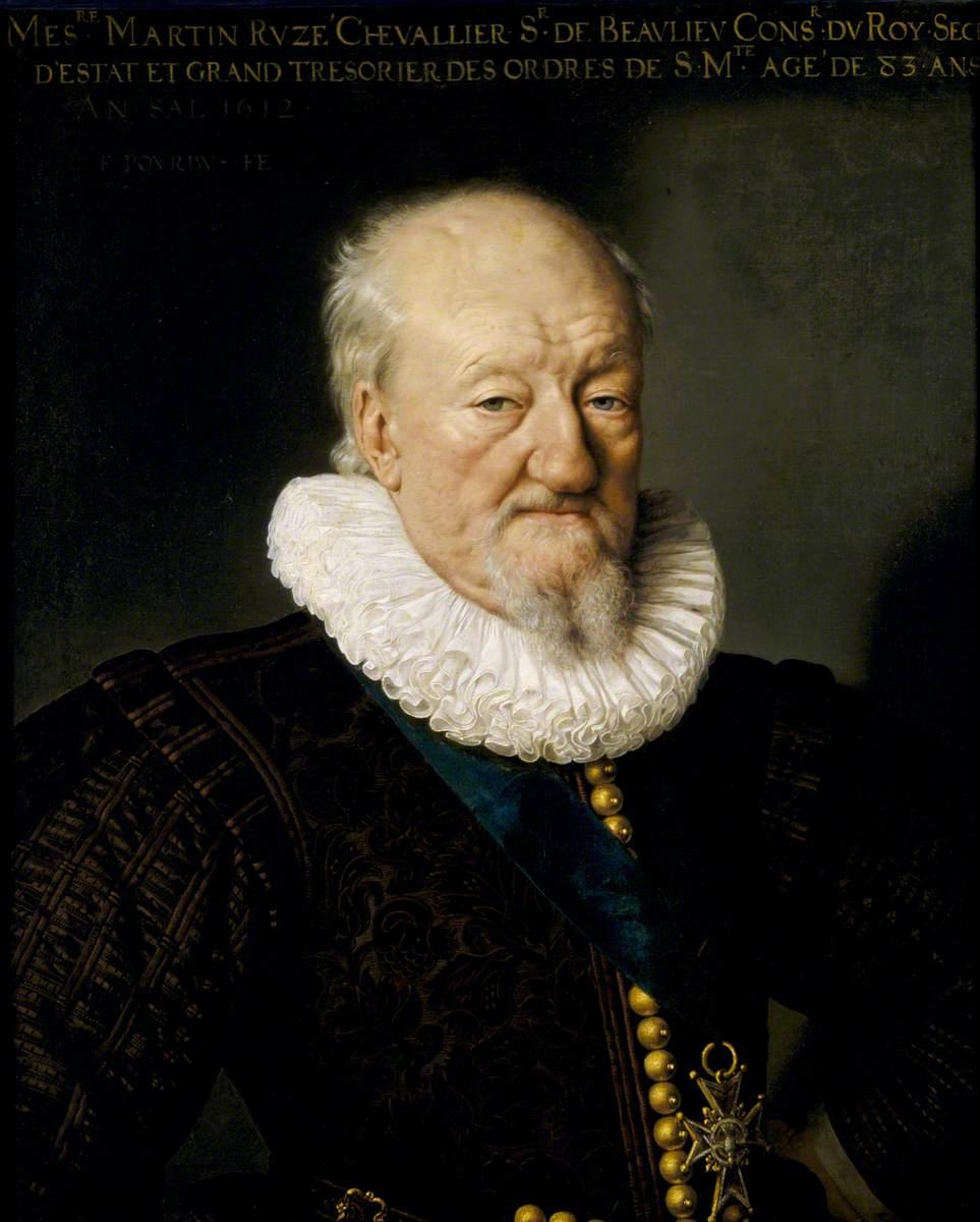 Martin Ruzé (1527–1613), seigneur de Beaulieu, Aged 83