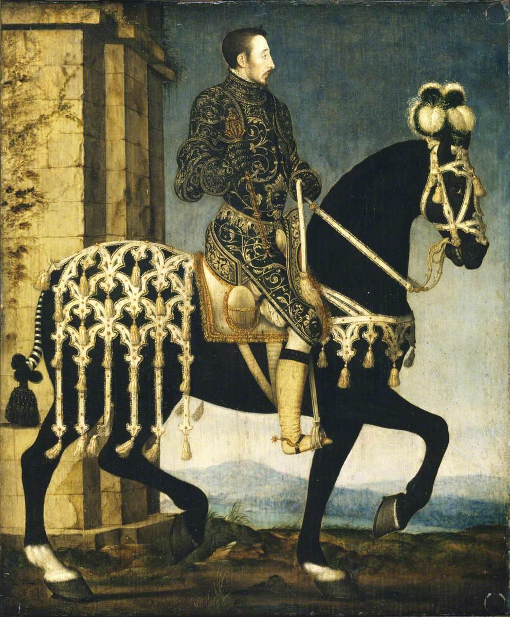 Henri II of France (1519–1559), on Horseback