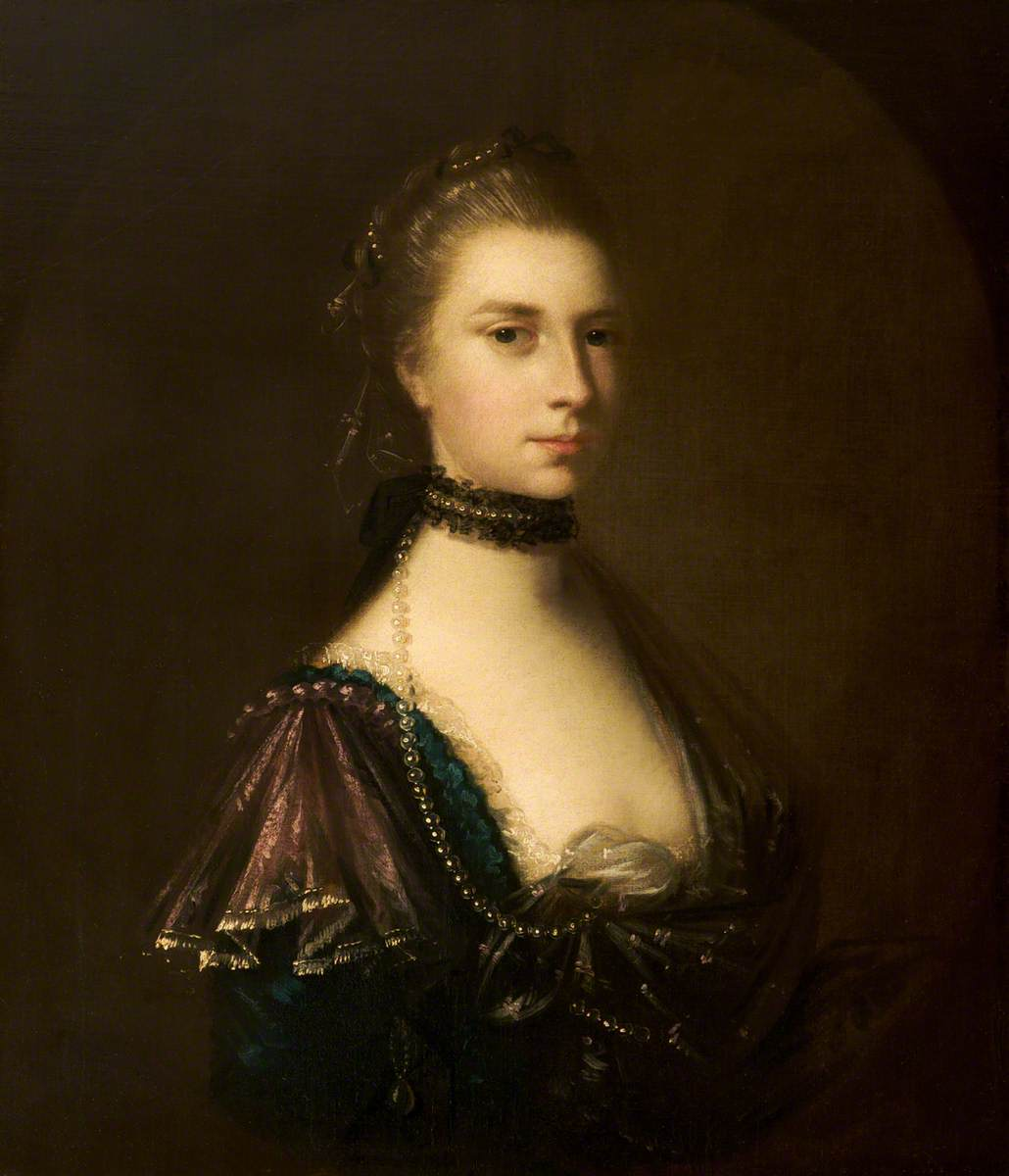 Letitia Richmond (1734–1784), Aged 24