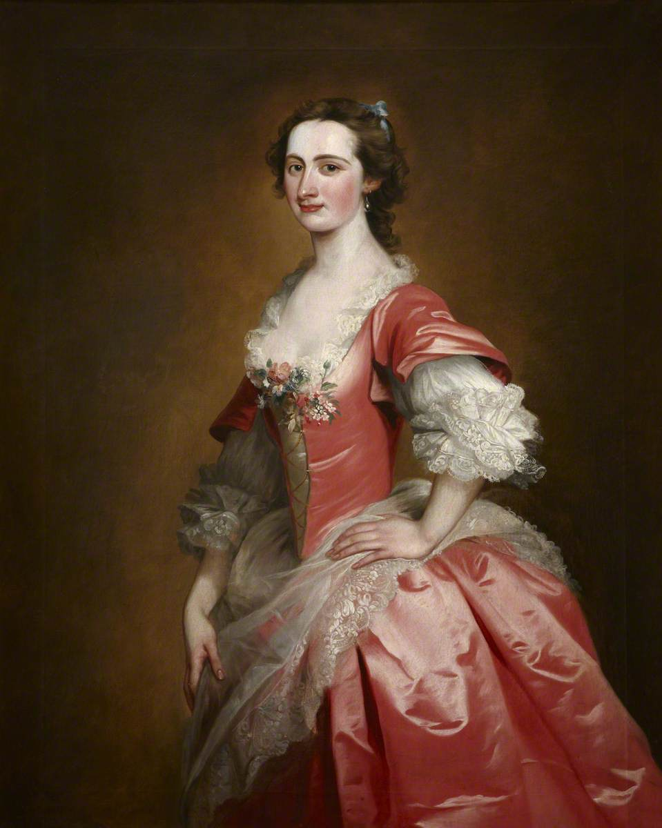 Portrait of an Unknown Lady, Called 'Mrs Somerville'