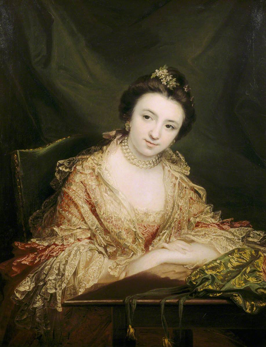 Called 'The Honourable Harriet Molesworth (1745–1812), the Honourable Mrs John Staples'