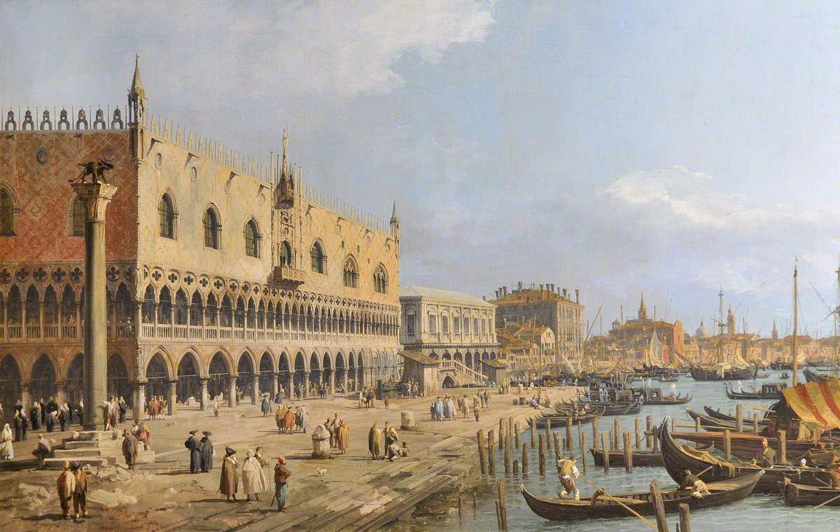 The Doge's Palace and Riva degli Schiavoni, Venice