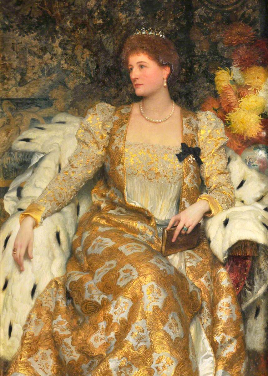 Alice Anne Graham-Montgomery (1847–1931), Duchess of Buckingham and Chandos and Countess Egerton of Tatton