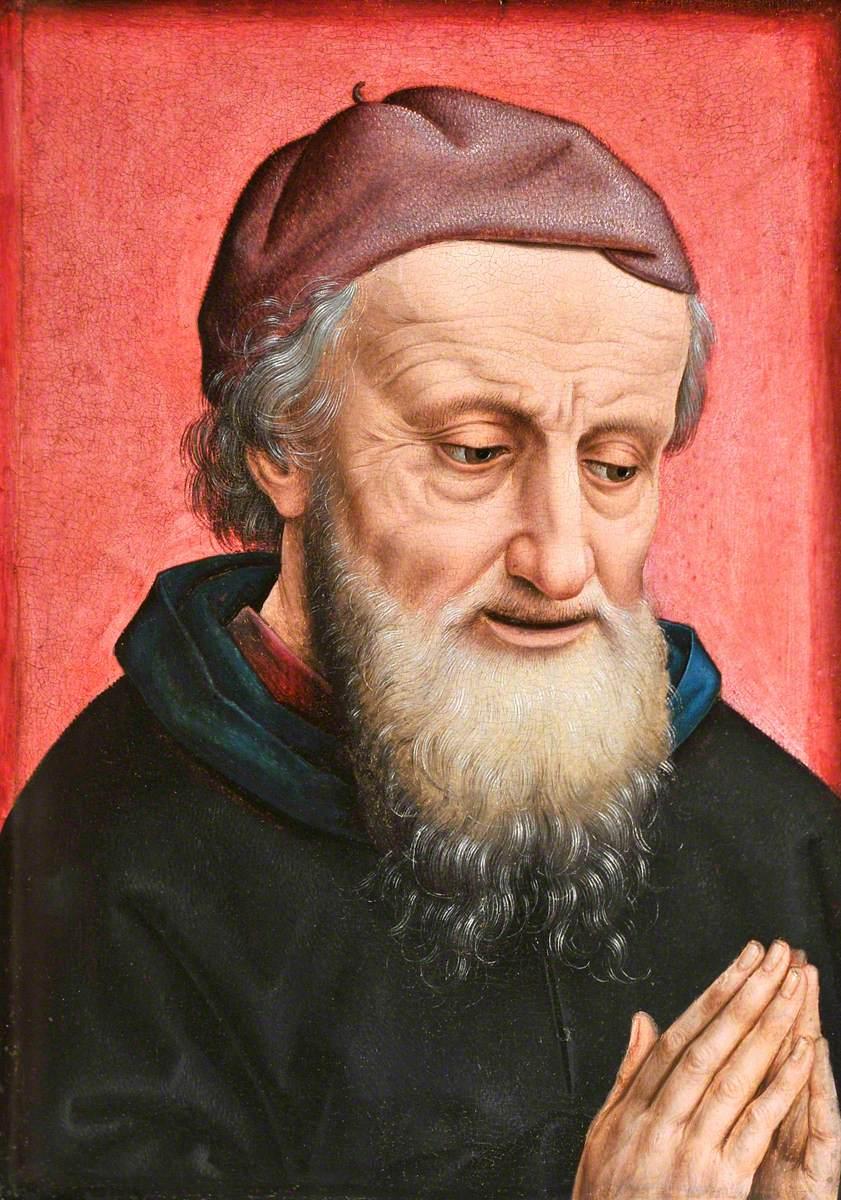The Head of Saint Joseph of Arimathea in Prayer