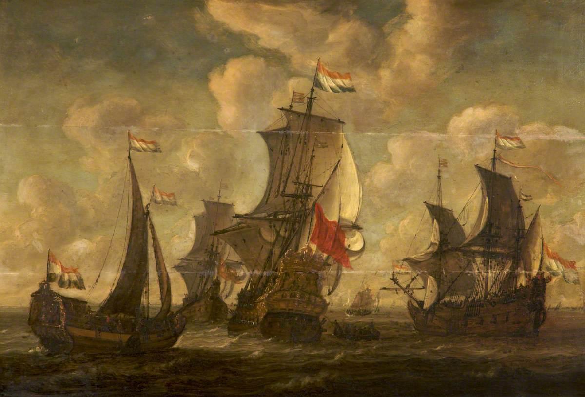Three Dutch Men o' War
