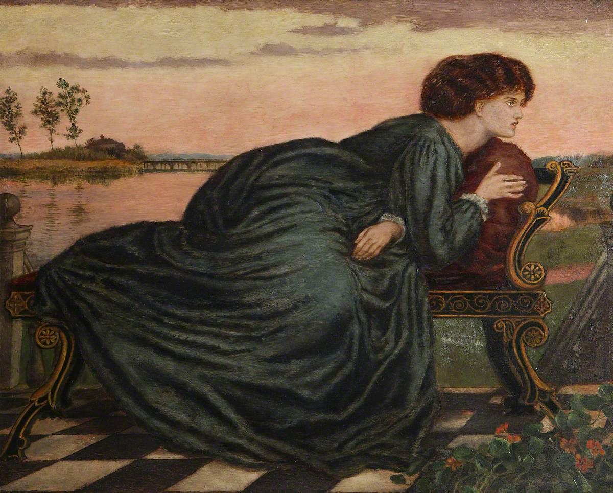 The Theodore Watts-Dunton Folding Press Bed: Janey Morris