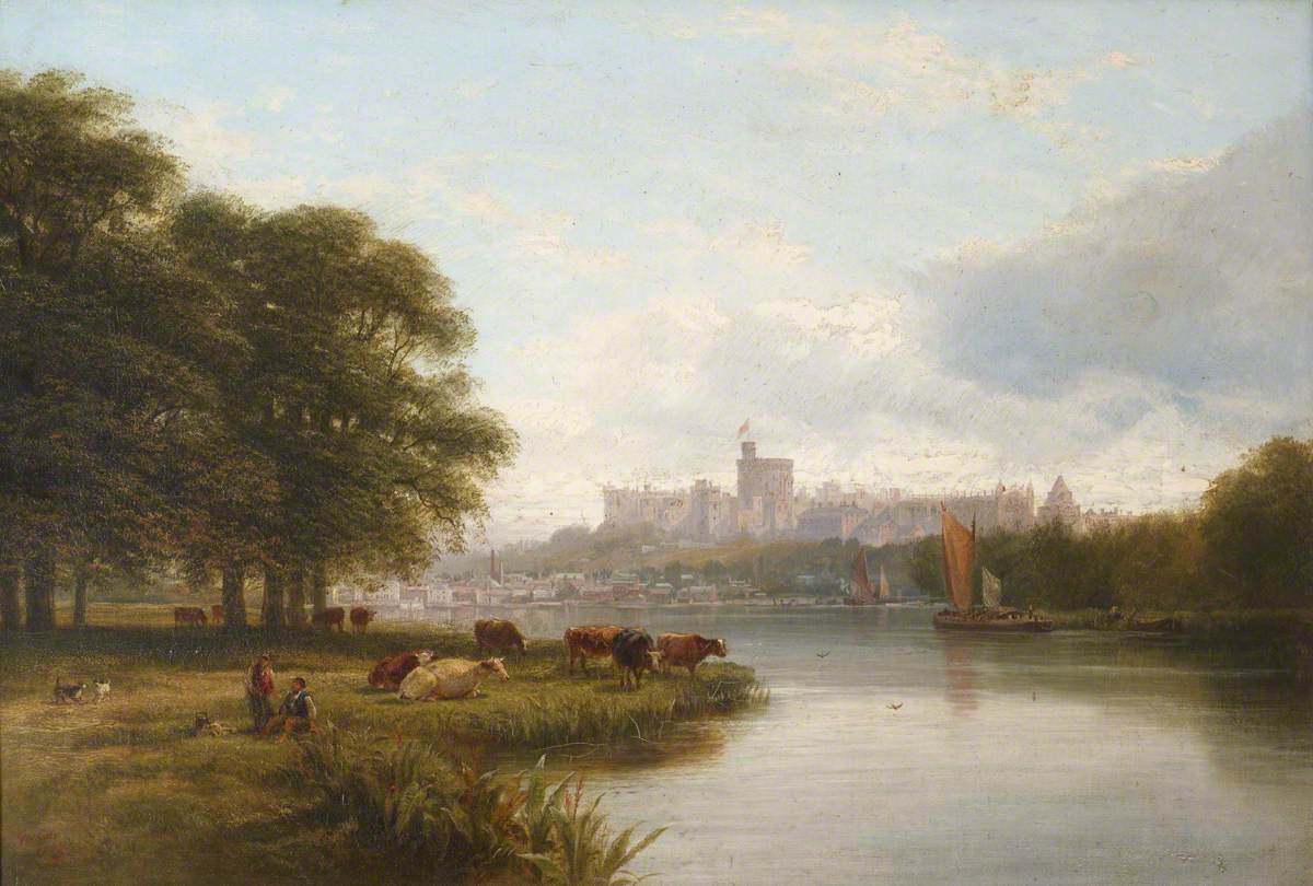 View of Windsor Castle from the River