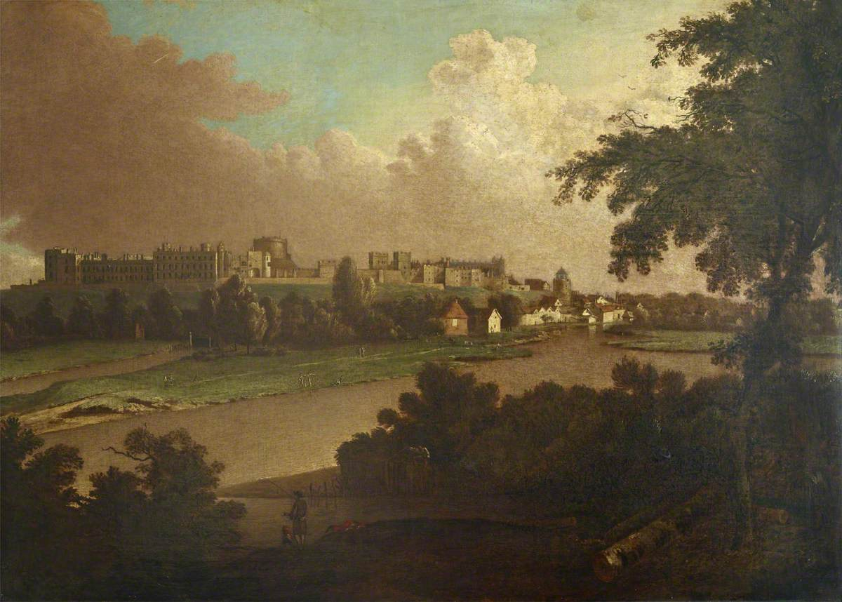 View of Windsor from the River