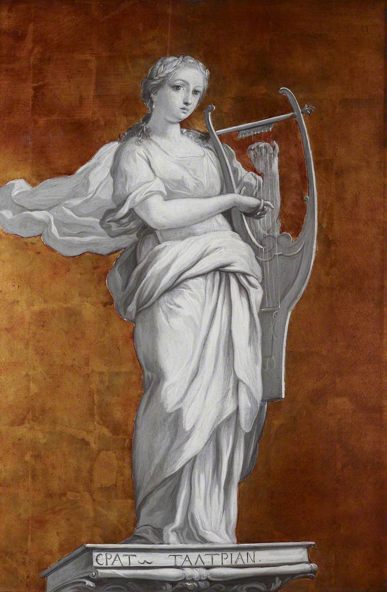 Erato, the Muse of Lyric and Love Poetry