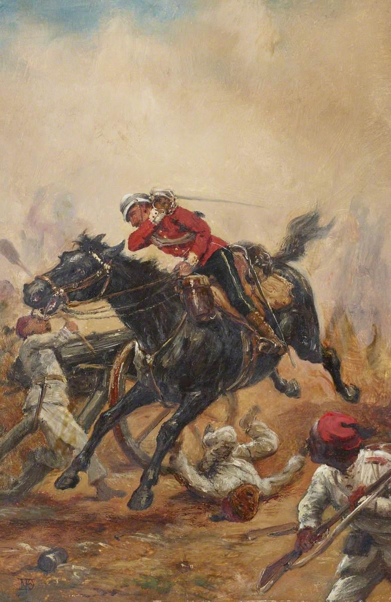 Life Guards at the Battle of Tel-el-Kebir, 1882