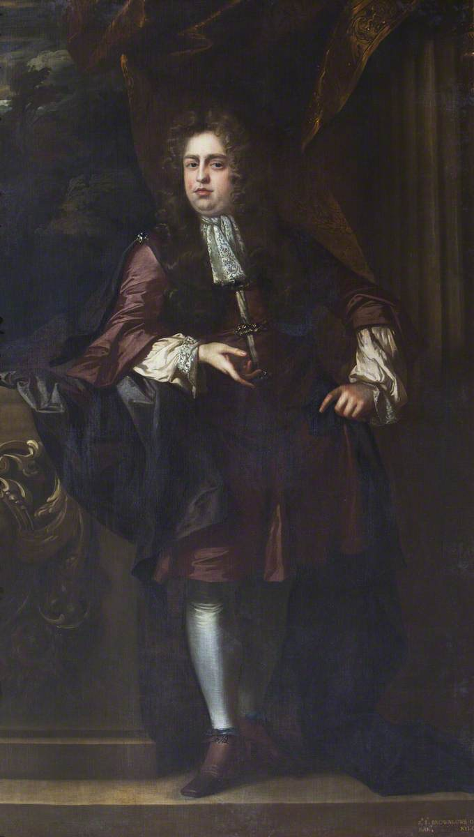 Sir John Brownlow (1659–1697), 3rd Bt, 'Young Sir John'