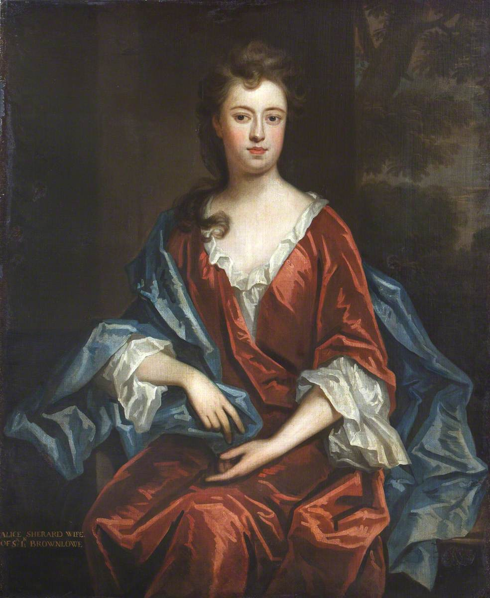 Alicia Brownlow (1684–1727), Lady Guilford