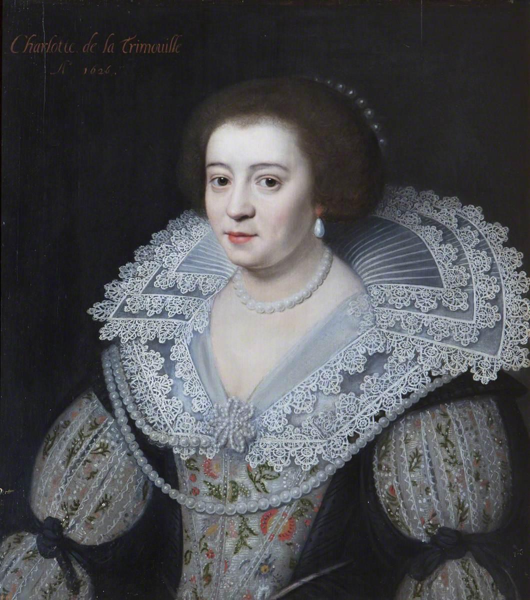 Charlotte de la Trémoïlle (1599–1664), Lady Strange, Later Countess of Derby