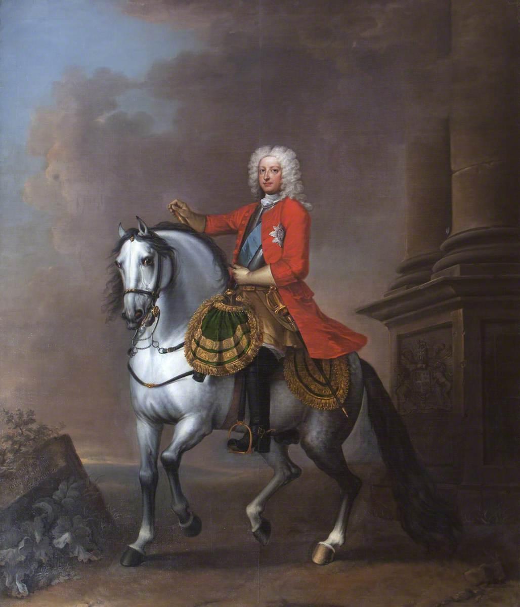 George II (1683–1760), on Horseback