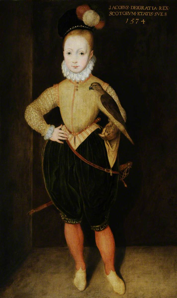 James I and VI (1566–1625), as a Boy