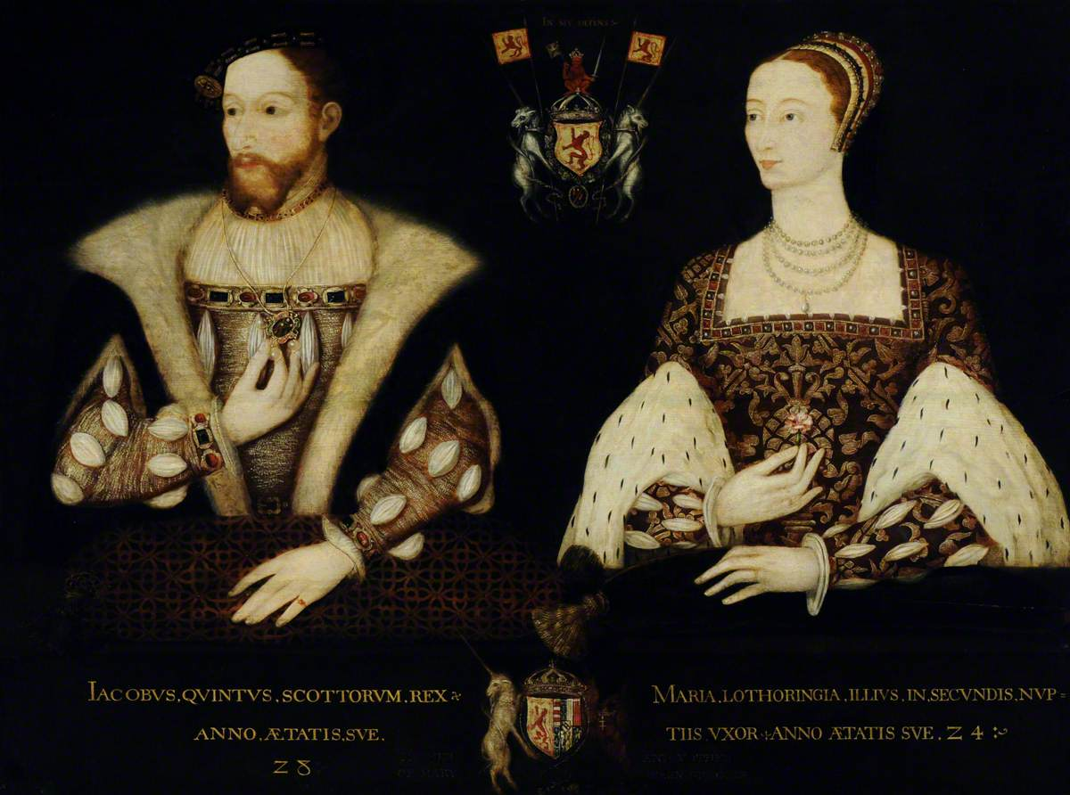 James V (1512–1542), King of Scotland, and Mary of Guise (1515–1560), Queen of Scotland