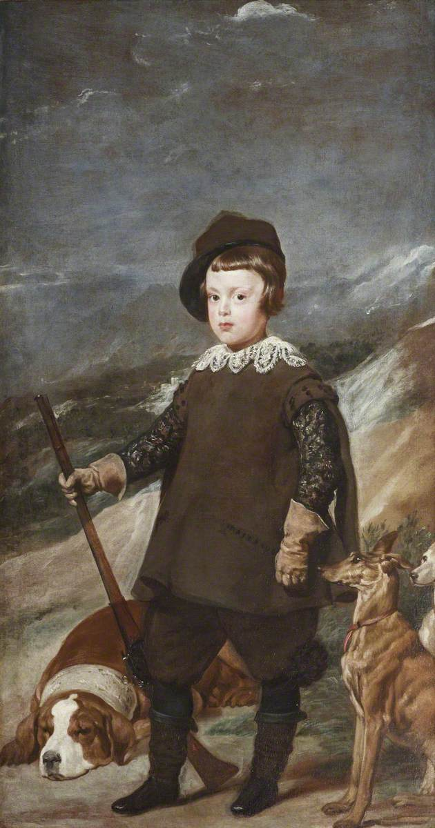 Prince Baltasar Carlos (1629–1646), Aged 6, as a Hunter