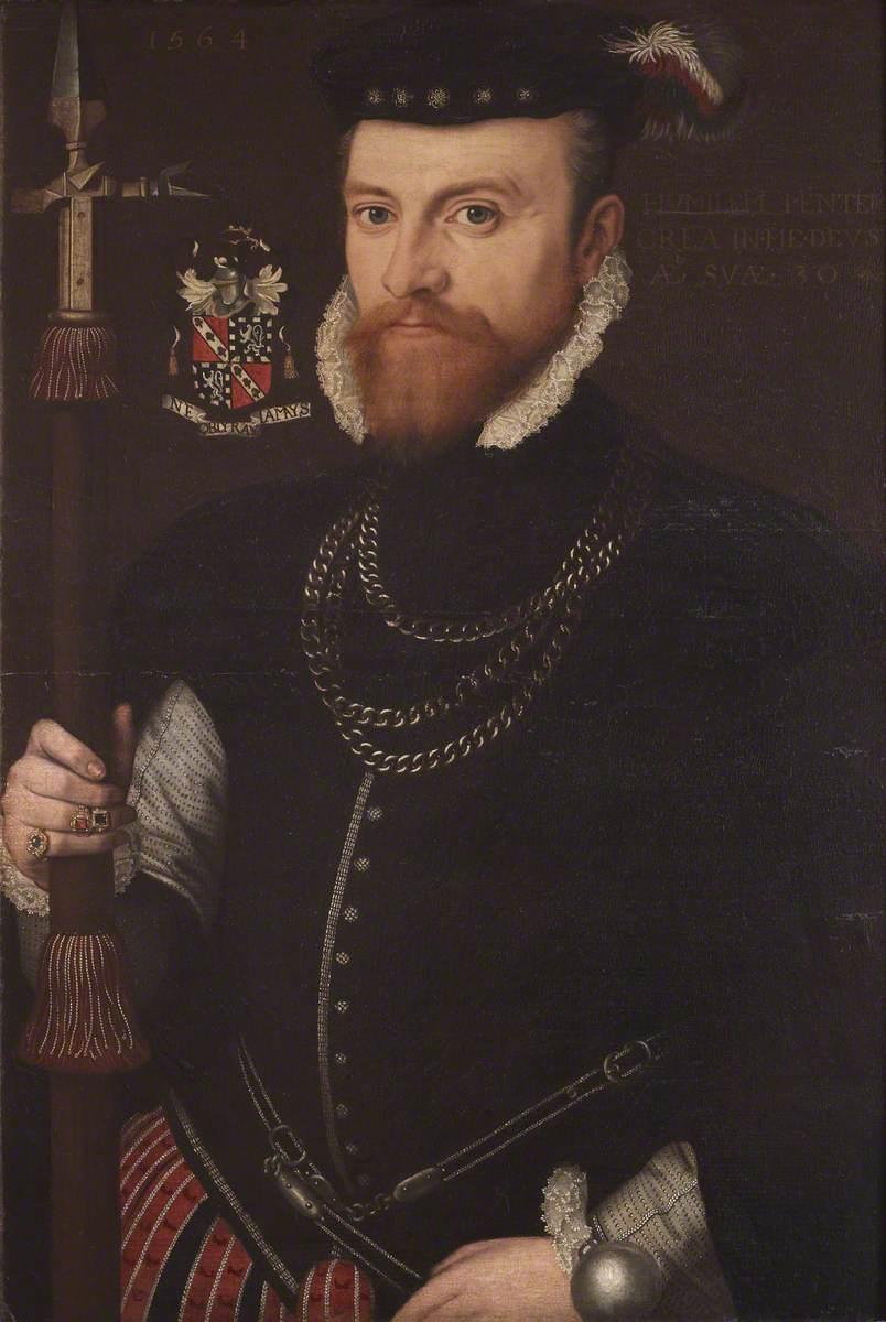 Francis Hervey (1534–1601/1602), Aged 30