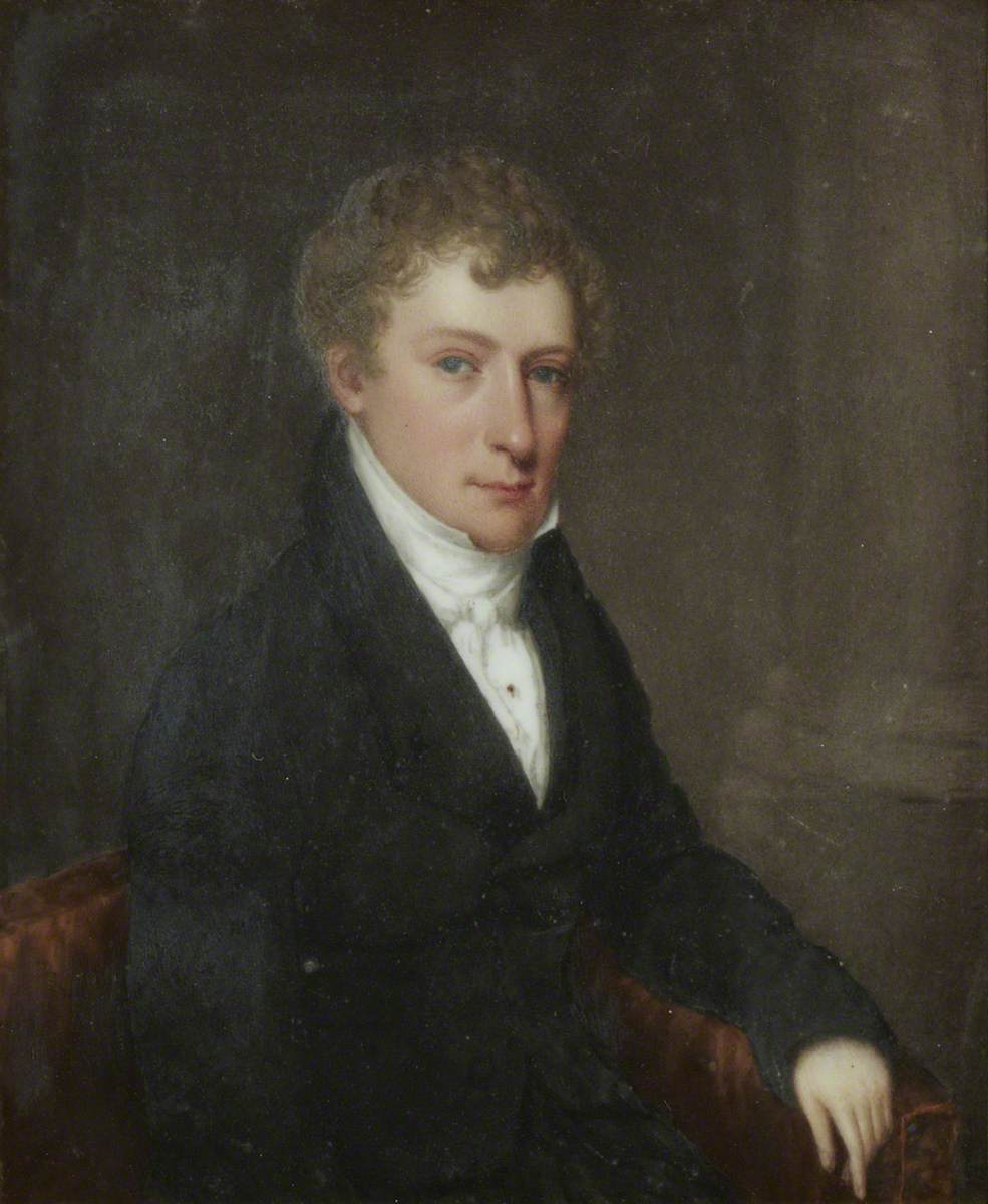 The Reverend Frederick Emanuel Hippolyte Curzon (1795–1871)