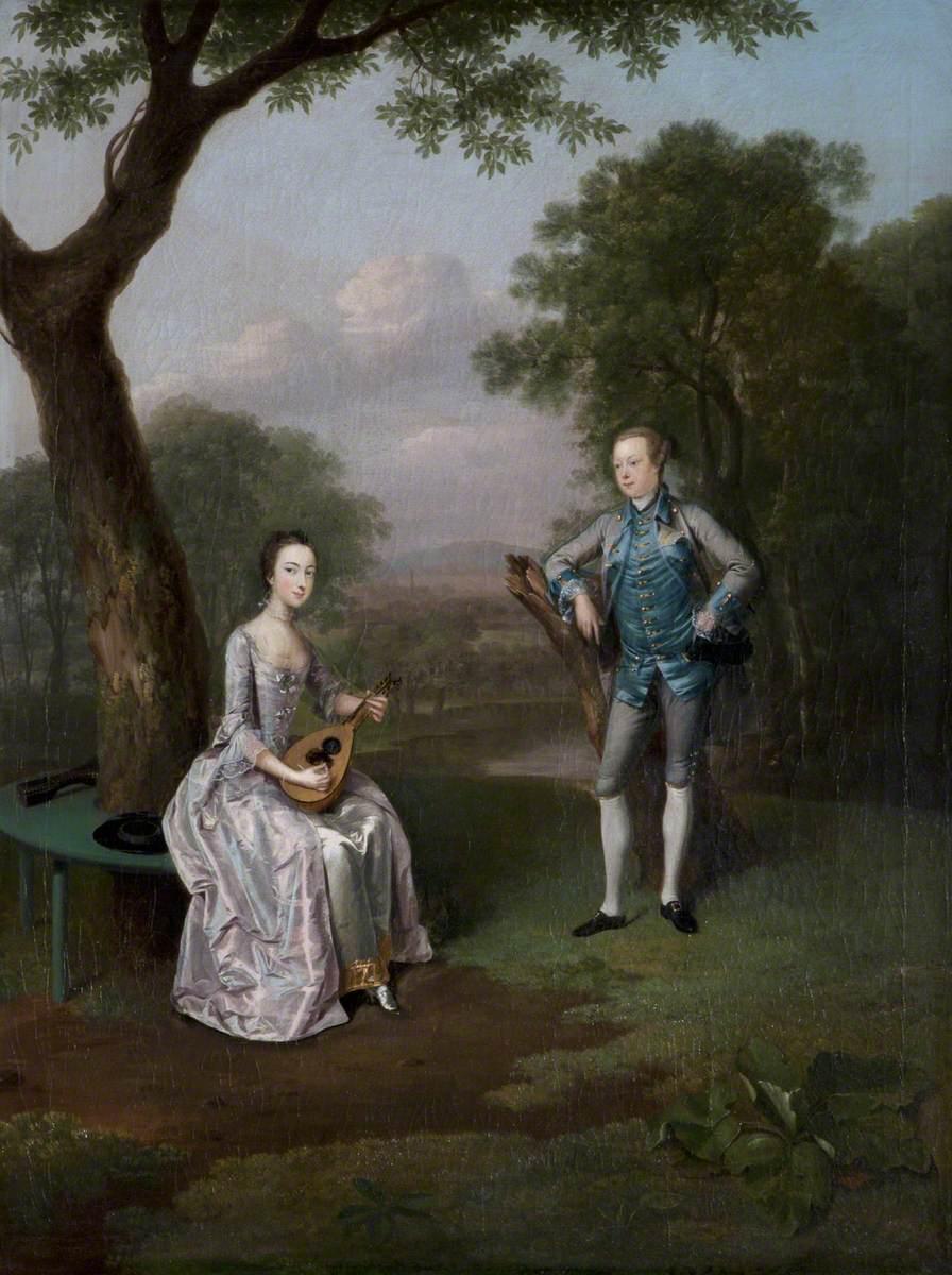 Sir Nathaniel (1726–1804), and Lady Caroline Curzon (1733–1812)
