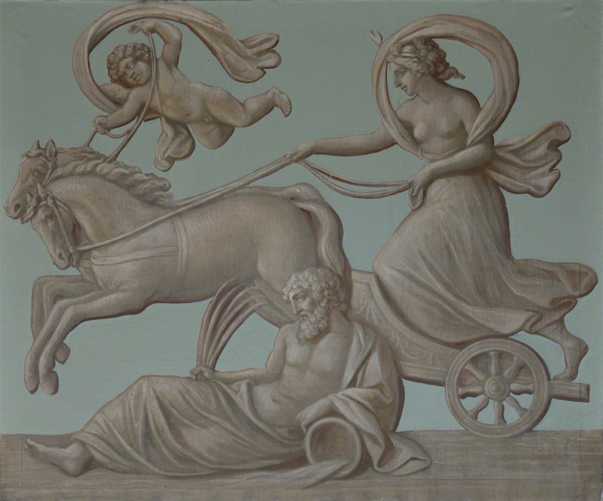 Diana (Silene) Riding Her Chariot
