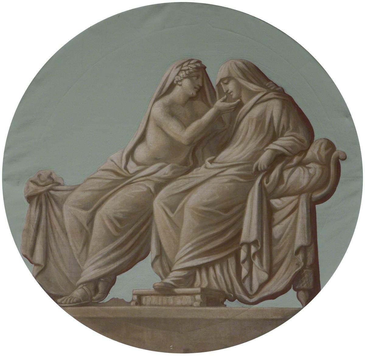 A (Grecian/Roman) Wedding: Retiring to Rest (Alcestis with Apollo)