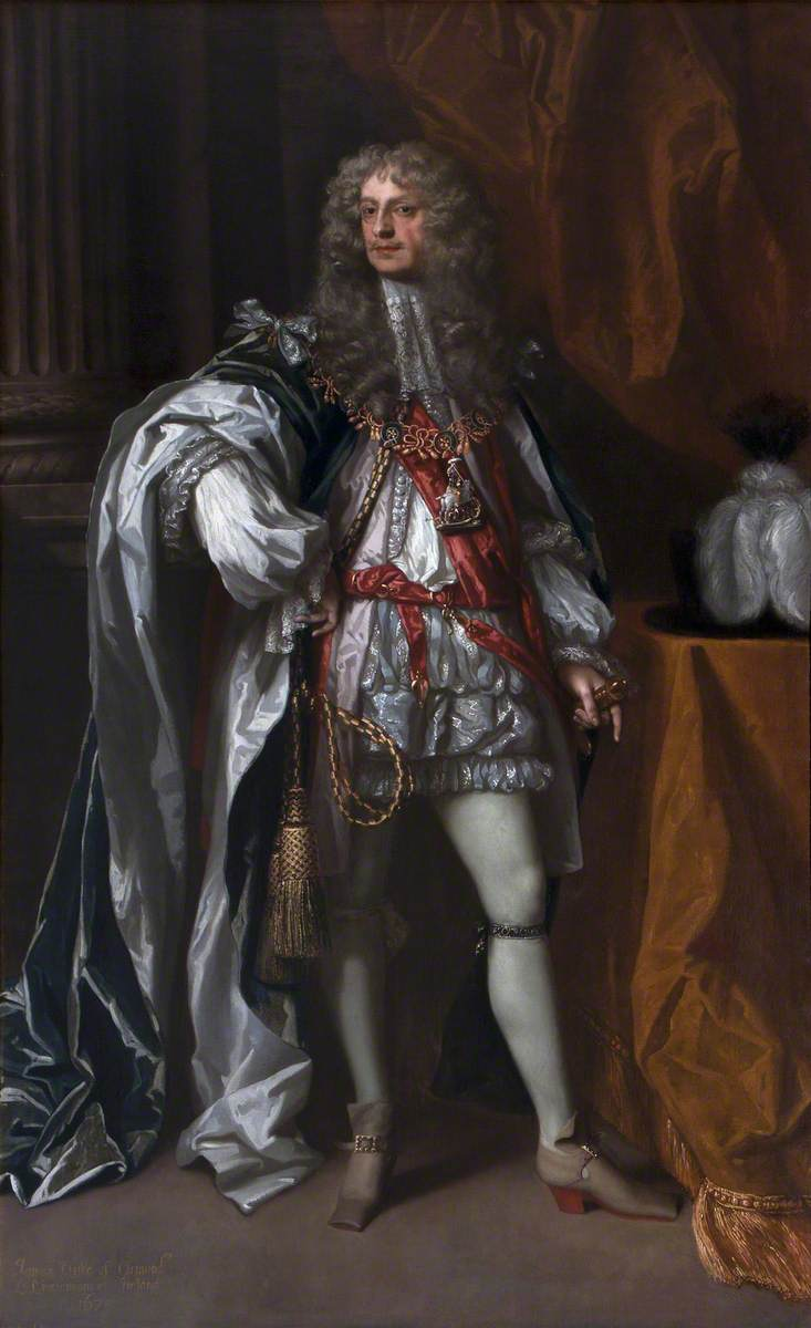 James Butler (1610–1688), 1st Duke of Ormonde, KG, in Garter Robes