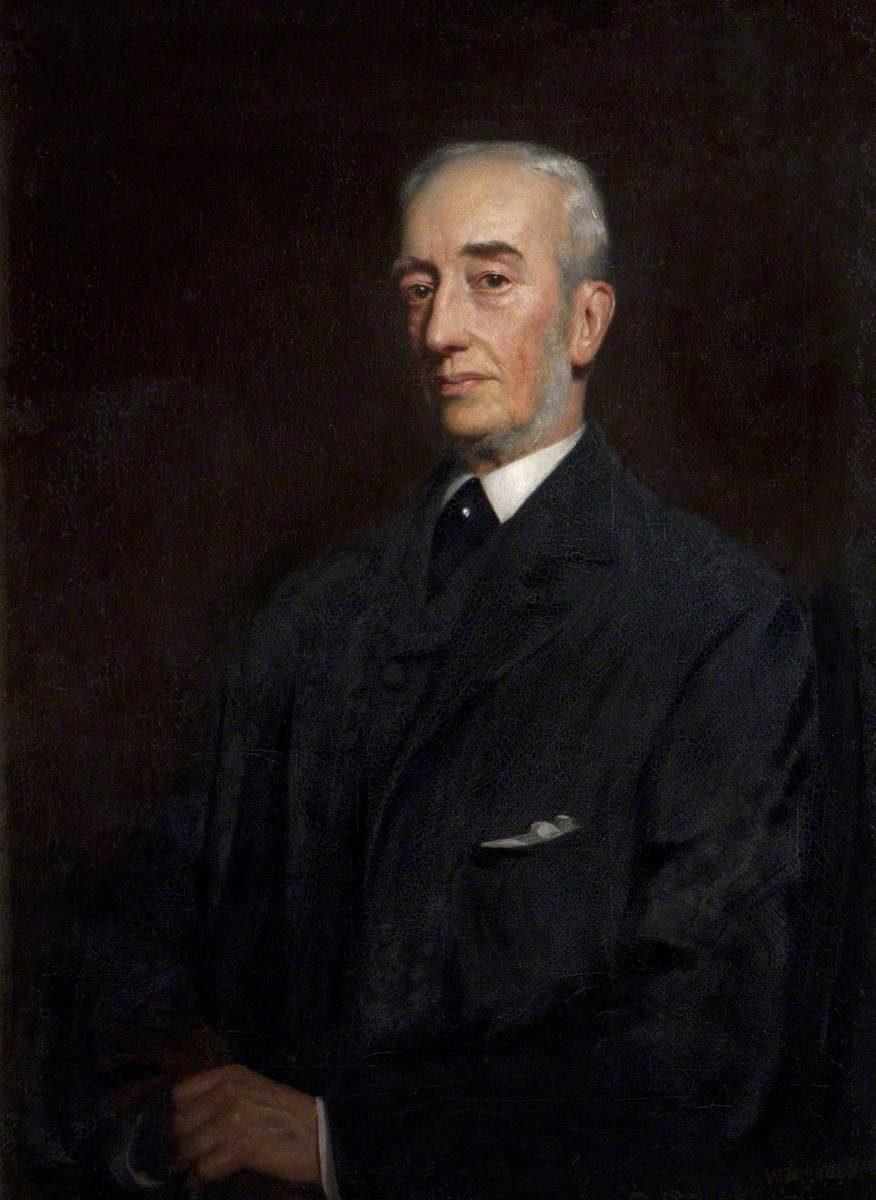 The Reverend Alfred Nathaniel Holden Curzon (1831–1916), 4th Baron Scarsdale